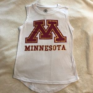 University of Minnesota tank top
